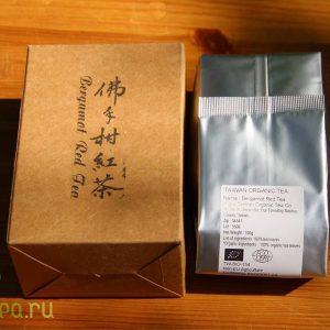 рубиновый чай сбергамотом- упаковка